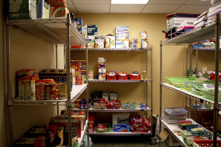 New campus food bank provides financial support for students