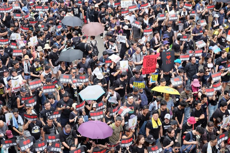 The Hong Kong protests, unmasked